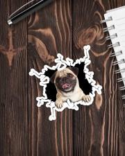 Pug Crack Sticker - Single (Vertical) aos-sticker-single-vertical-lifestyle-front-05