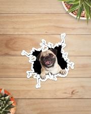 Pug Crack Sticker - Single (Vertical) aos-sticker-single-vertical-lifestyle-front-07