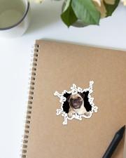 Pug Crack Sticker - Single (Vertical) aos-sticker-single-vertical-lifestyle-front-16