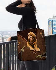 French Mastiffs  Dogue   All-over Tote aos-all-over-tote-lifestyle-front-05