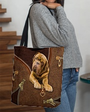 French Mastiffs  Dogue   All-over Tote aos-all-over-tote-lifestyle-front-09