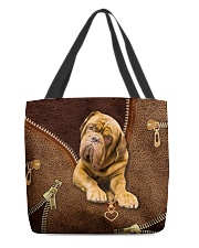French Mastiffs  Dogue   All-over Tote back