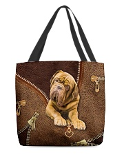 French Mastiffs  Dogue   All-over Tote front