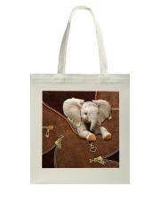 Elephant  Tote Bag tile
