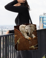 Elephant  All-over Tote aos-all-over-tote-lifestyle-front-05