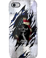 Skull American Electric Phone Case Phone Case thumbnail
