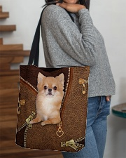 Chihuahua Long Hair  All-over Tote aos-all-over-tote-lifestyle-front-09