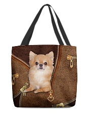 Chihuahua Long Hair  All-over Tote back