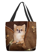 Chihuahua Long Hair  All-over Tote front