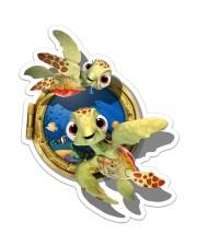 Turtle 3D Sticker - Single (Vertical) front