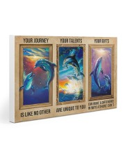 Dolphins - Your Journey Gallery Wrapped Canvas Prints tile