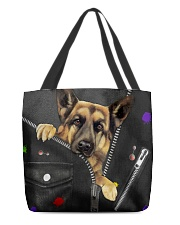 German Shepherd - Zip - All - Tote  All-over Tote front