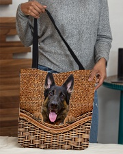 German Shepherd Funny All - Over Tote All-over Tote aos-all-over-tote-lifestyle-front-10