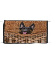 German Shepherd Funny All - Over Tote Cloth face mask thumbnail