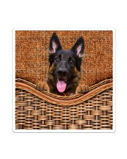 German Shepherd Funny All - Over Tote Sticker - Single (Vertical) thumbnail