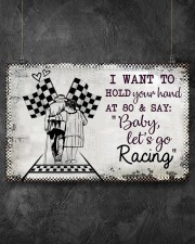 Baby Let's Go Racing 17x11 Poster aos-poster-landscape-17x11-lifestyle-12