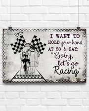 Baby Let's Go Racing 17x11 Poster aos-poster-landscape-17x11-lifestyle-17