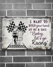Baby Let's Go Racing 17x11 Poster aos-poster-landscape-17x11-lifestyle-18