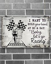 Baby Let's Go Racing 17x11 Poster poster-landscape-17x11-lifestyle-18