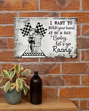 Baby Let's Go Racing 17x11 Poster poster-landscape-17x11-lifestyle-23