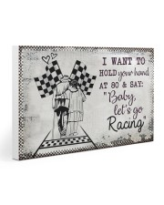 Baby Let's Go Racing 30x20 Gallery Wrapped Canvas Prints thumbnail