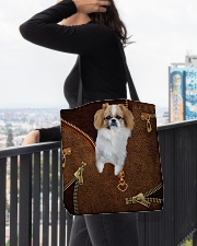 Pekingese  All-over Tote aos-all-over-tote-lifestyle-front-05