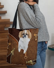 Pekingese  All-over Tote aos-all-over-tote-lifestyle-front-09