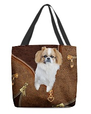 Pekingese  All-over Tote front