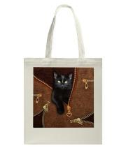 Black Cat  Tote Bag tile