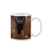 Black Cat  Mug tile