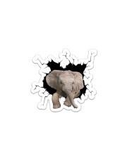 Elelphant Crack Sticker - Single (Vertical) front