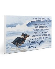 Dachshund - I Hope You Dance 30x20 Gallery Wrapped Canvas Prints thumbnail