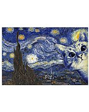Cat - Van Gogh 17x11 Poster front