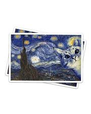 Cat - Van Gogh Sticker tile