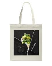 Frog Black  Tote Bag thumbnail