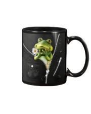 Frog Black  Mug thumbnail
