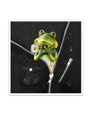 Frog Black  Sticker - Single (Vertical) thumbnail