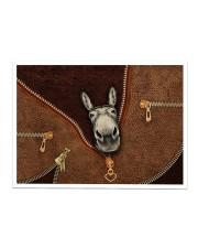 Donkey Zip Sticker - Single (Horizontal) thumbnail