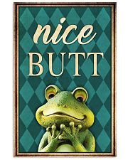 Frog Nice Butt V2 11x17 Poster front