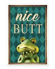 Frog Nice Butt V2 Sticker tile