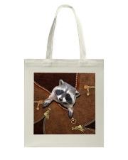 Racoon  Tote Bag tile