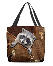Racoon  All-over Tote back