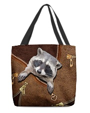 Racoon  All-over Tote front