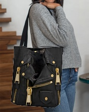 Black Cat - Jacket Bag -Tote All-over Tote aos-all-over-tote-lifestyle-front-09