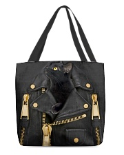 Black Cat - Jacket Bag -Tote All-over Tote front