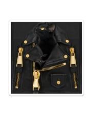 Black Cat - Jacket Bag -Tote Sticker - Single (Vertical) thumbnail