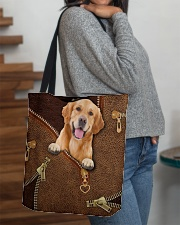 Golden Retriever   All-over Tote aos-all-over-tote-lifestyle-front-09