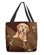 Golden Retriever   All-over Tote back