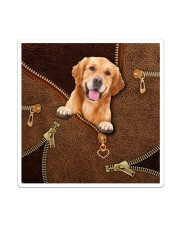 Golden Retriever   Sticker - Single (Vertical) thumbnail
