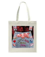Just A Girl Who Loves Pigs Tote Bag thumbnail